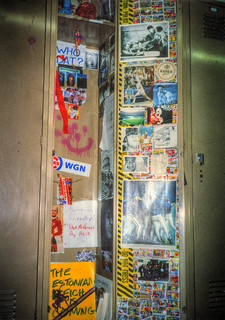 My high school locker 1993 | by spudart