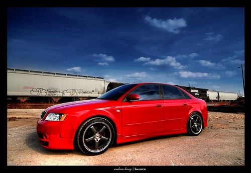 audi a4 quattro 1 8t b6 tim 39 s audi a4 with a rieger kit flickr. Black Bedroom Furniture Sets. Home Design Ideas