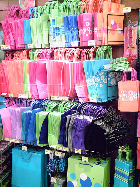 Gift bags | Clean Wal-Mart | Flickr