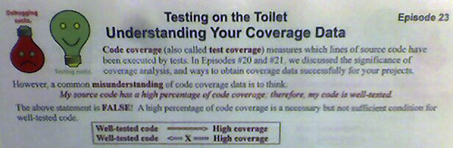 "Google ""Testing on the Toilet"" 
