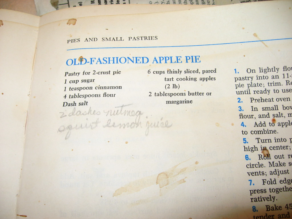 Mccalls Old Fashioned Apple Pie Recipe