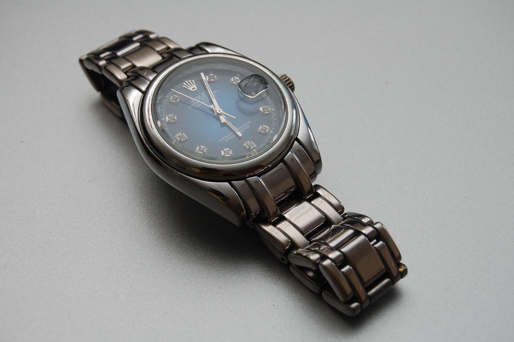 Rolex Oyster Perpetual Diamond Watch