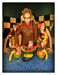 Delachaux - Mixing Fruit as The Cloned Chiquita Banana Wives Shake Maracas and Look Away | by merkley???