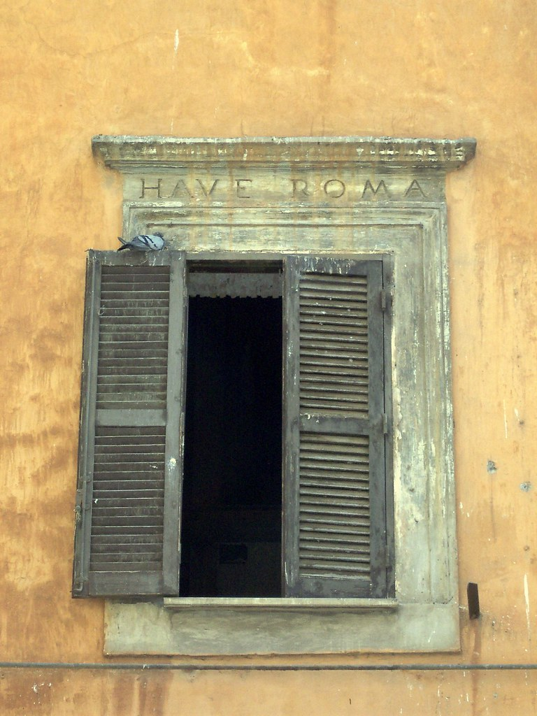 Ventana romana | Marcos Reina | Flickr