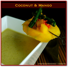 Coconut Mango Soup | by MeetaK