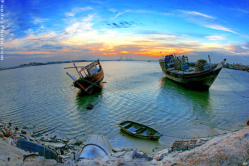 Old Baots Sunset - HDR | by A.alFoudry
