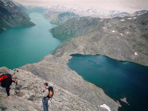 how to get to besseggen ridge