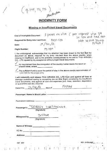 Airasia Indemnity Form Sergey Flickr