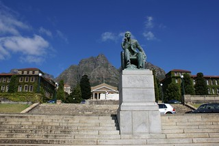 UCT Cape Town - Statue of Rhodes | by DanieVDM