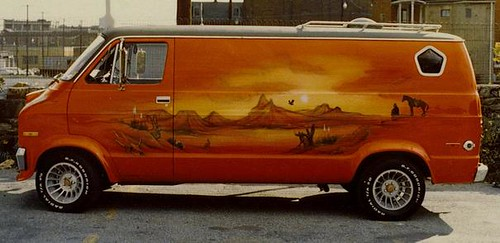 Dodge Van Love Those Cyclone Hurricane Wheels Pleasure