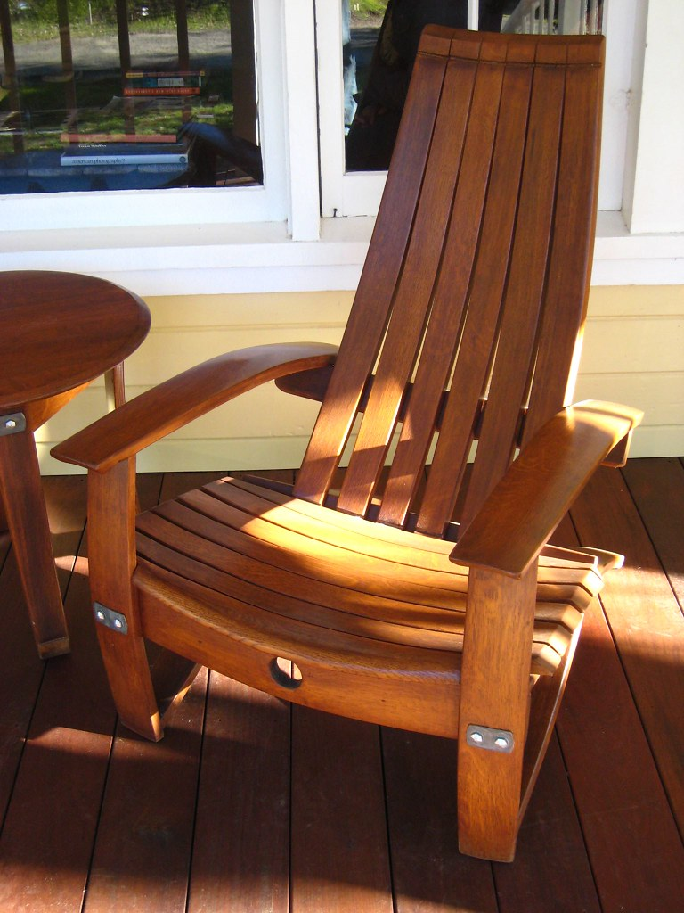 Chairs Made Out Of Wine Barrels Star5112 Flickr