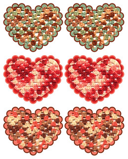 Valentine Heart Garland Cutouts | by Green Kitchen