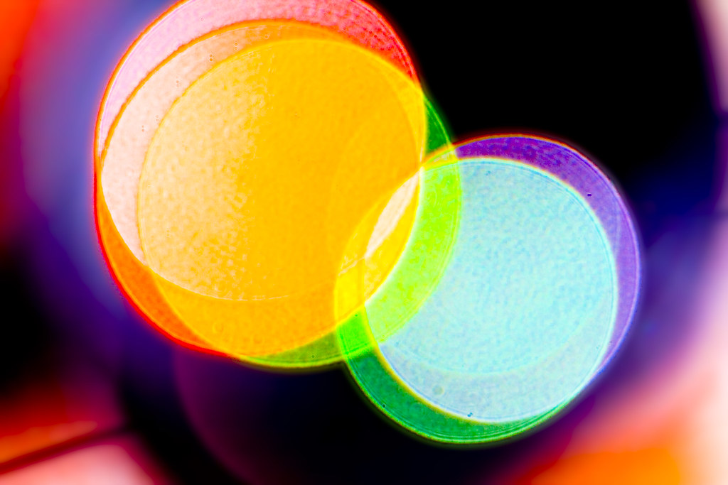 Venn Diagram 5: Technicolor Venn-Diagram | I shot the reflection off one of u2026 | Flickr,Chart