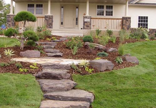 Outdoor Natural Stone Crack Repair