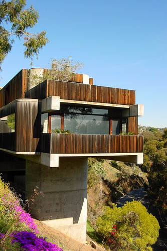 Pacific Palisades Concrete Pier House | by moderns_r_us