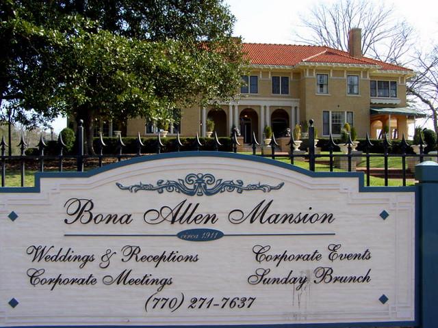 Bona Allen Mansion Buford Ga National Register For Histor