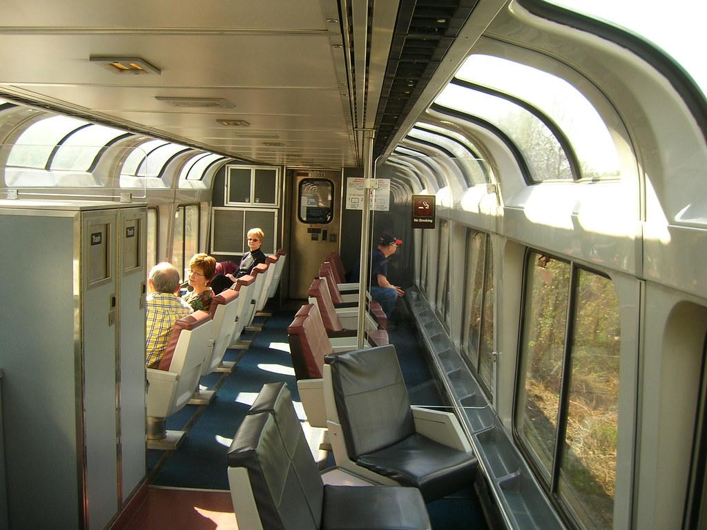Lounge Car  Amtrak