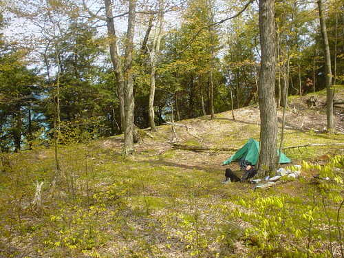 Camping On North Manitou Island