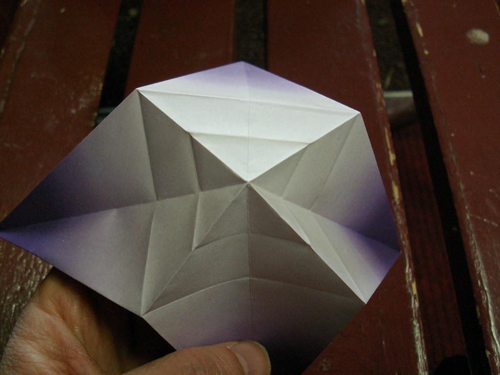 Origami pattern fleur de lys 20 origami fleur de lys pat flickr - Origami fleur de lys ...