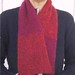 Red scarf for Estela