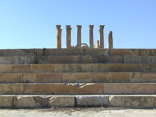 Jerash - Temple of Artemis | by magellano