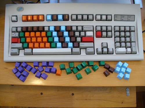 J. Schnable's customized IBM Model M keyboard | by chromedecay