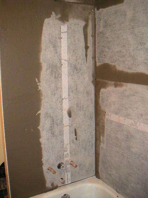 shower backer board 1 melissa lim flickr. Black Bedroom Furniture Sets. Home Design Ideas