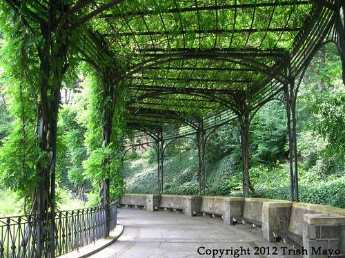 Pergola Conservatory Garden Central Park Conservatory Ga Flickr