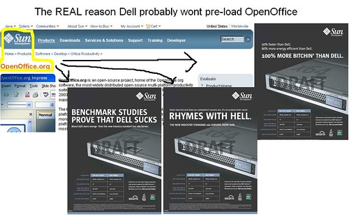 The REAL reason Dell probably won't pre-load OpenOffice | by DDahlen