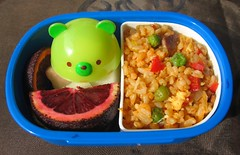 Kimchi fried rice lunch for toddler | by Biggie*
