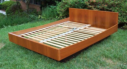 Danish Teak Platform Bed Expired Item Saved For Reference Flickr