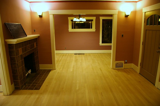 Refinish Wood Floors In Small Room
