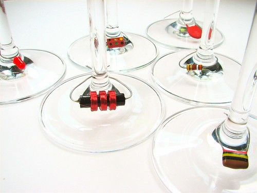 Component Wine Charms | by oskay