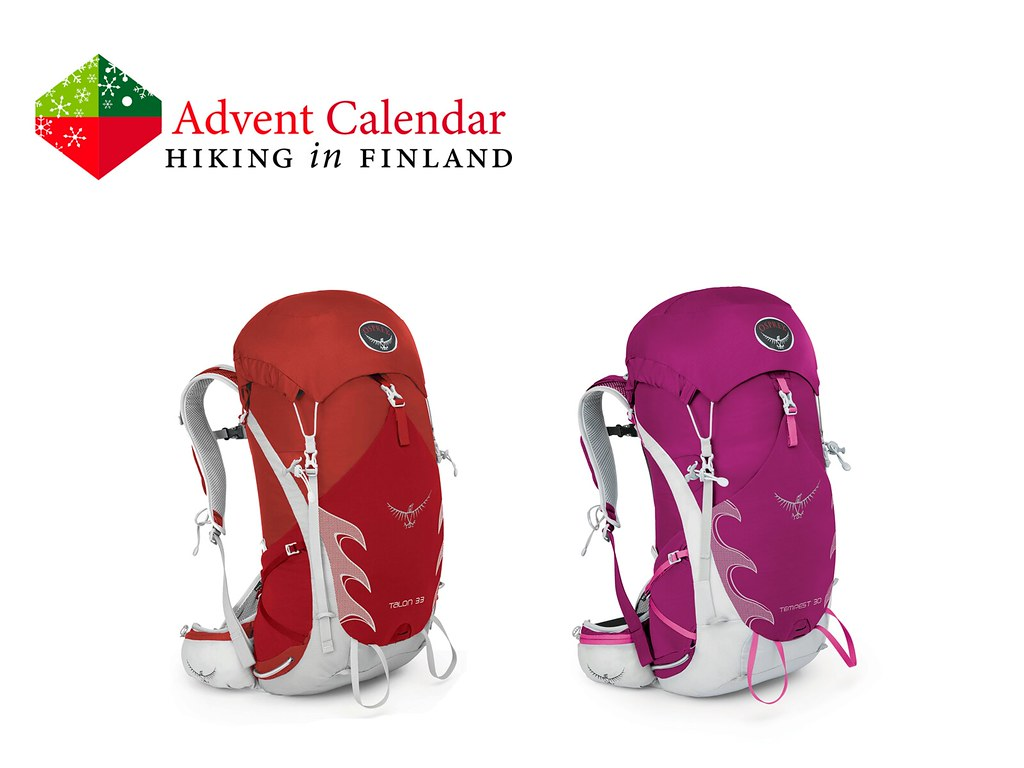 Advent Calendar Osprey Backpacks