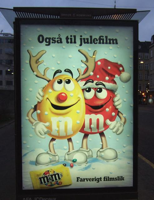 m&m reklame