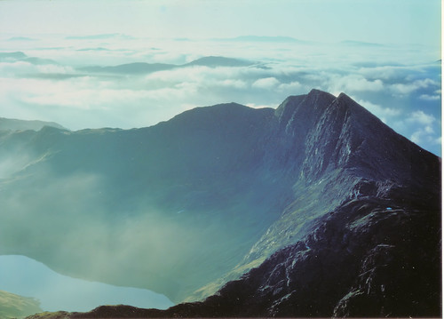 Inversion from Snowdon summit | by Kev Bailey