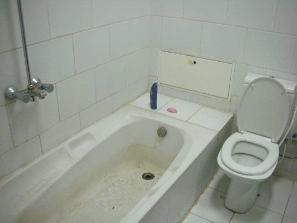 bathroom | this was not a five star hotel | Time Light | Flickr