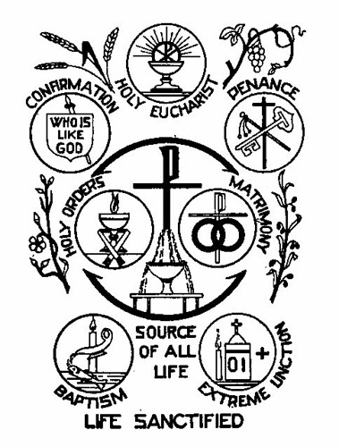 life sanctified   Christ who is the source of all sanctity ...