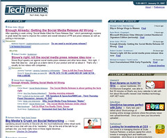 PR2.0 Top Story on TechMeme | by b_d_solis