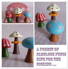 Decole - Mushroom Magnets | by glumpire