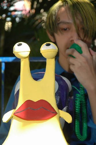 One Piece Cosplay - Den Den Mushi, Sanji | by mugiwara