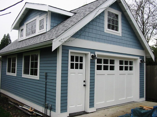 craftsman garage doorsLake Washington Craftsman Garage Door  Seattle Garage Doo  Flickr