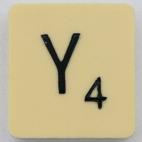 Scrabble Letter Y | by Leo Reynolds