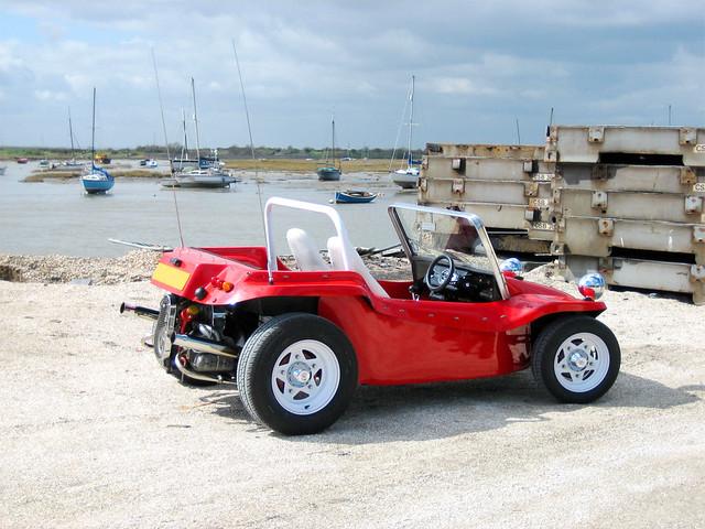 Beach buggy | My Beambug on the small bit of beach behind ...