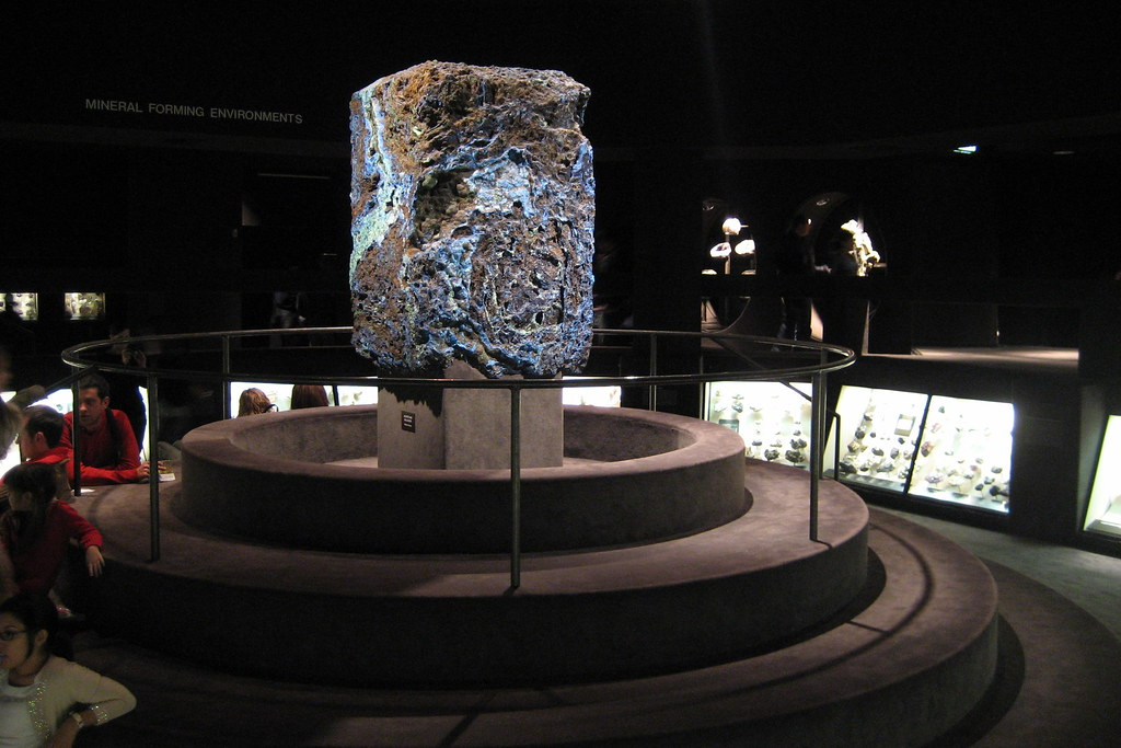 Nyc Amnh Harry Frank Guggenheim Hall Of Minerals Azur