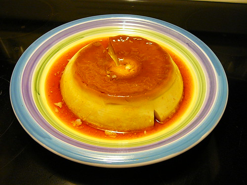 Homemade Flan | by @bastique