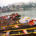 Boats at Naini Lake