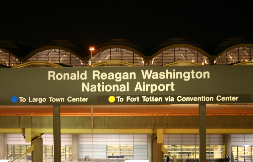 past and future problems of the ronald reagan washington national airport Ronald reagan: worst his name attached to scores of national landmarks including washington's national airport the model predicting the past two months.