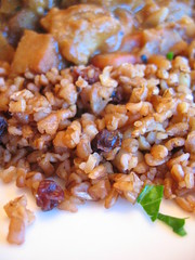 bulgur_pilaf with currants and pine_nuts | by tofu666
