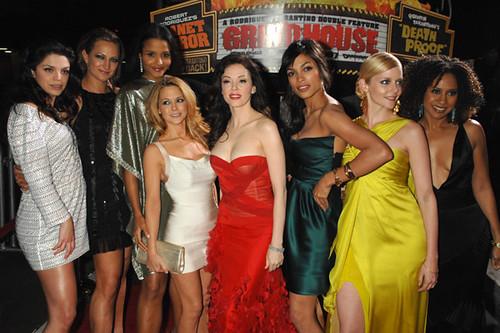 Grindhouse Cast | Vane... Rosario Dawson
